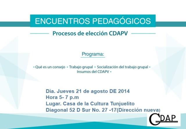encuentro pedagogico tunjuelito